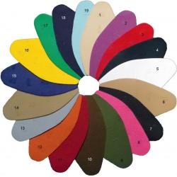 """patins """"vibram"""" moda de couleur"""